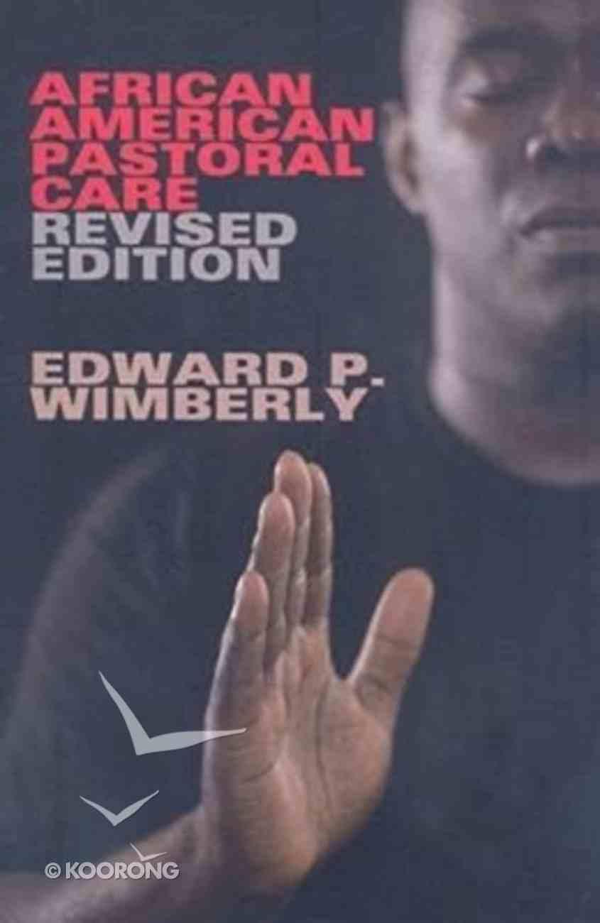 African American Pastoral Care Paperback