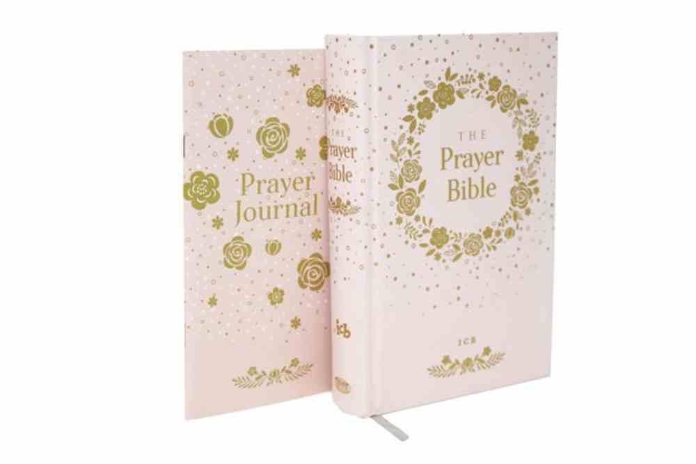 ICB Prayer Bible For Children Pink Includes Seperate Prayer Journal (Black Letter Edition) Hardback