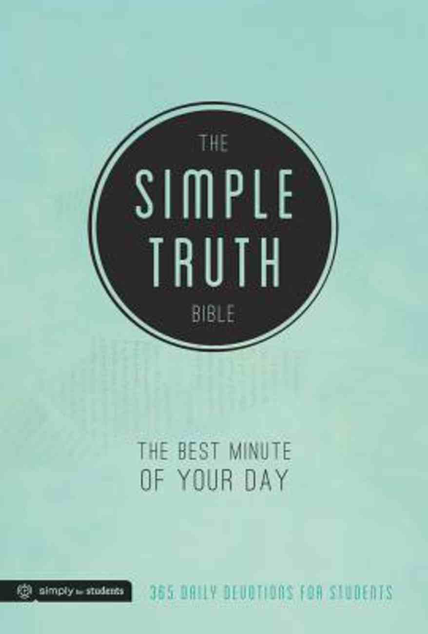 The Simple Truth Bible: The Best Minute of Your Day Paperback