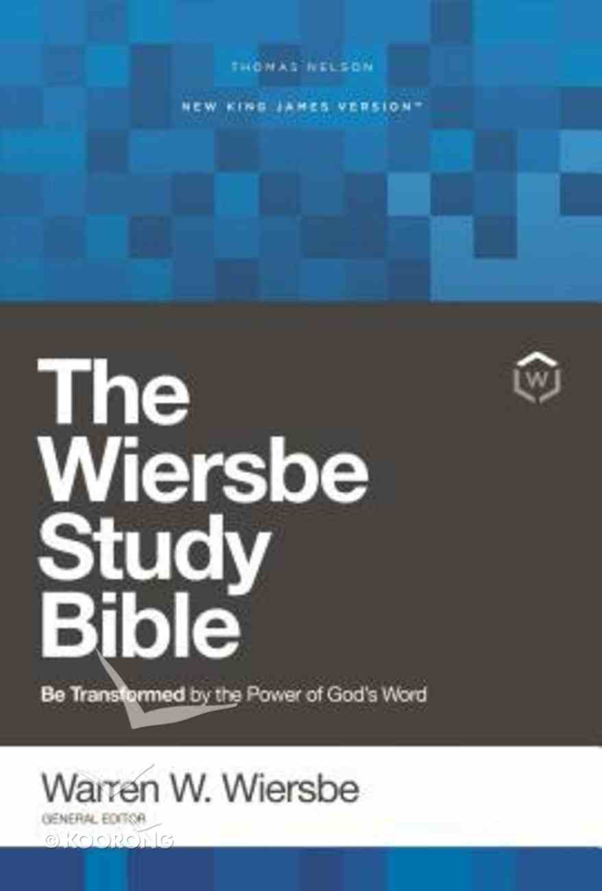 NKJV, Wiersbe Study Bible, Red Letter Edition, Ebook eBook