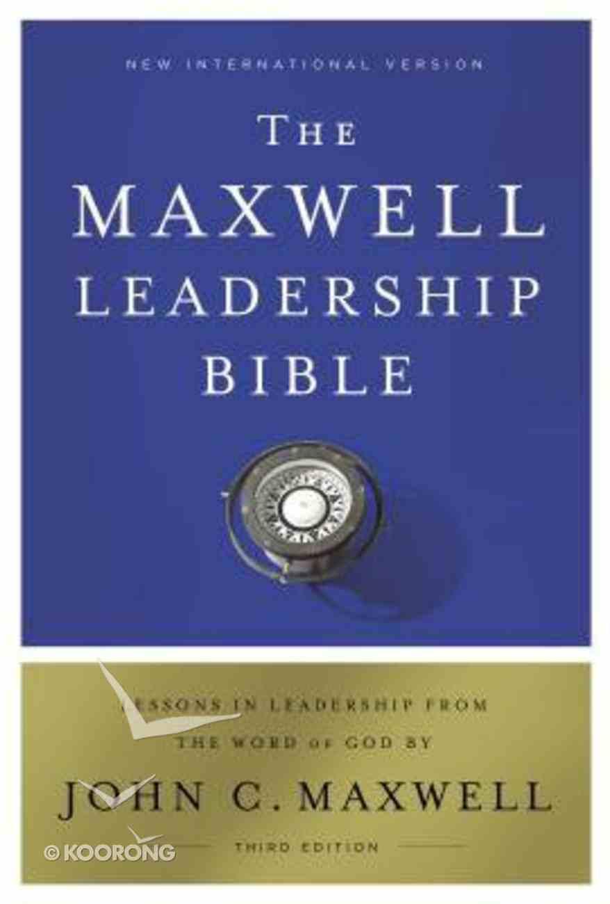 NIV, Maxwell Leadership Bible, 3rd Edition, Ebook eBook