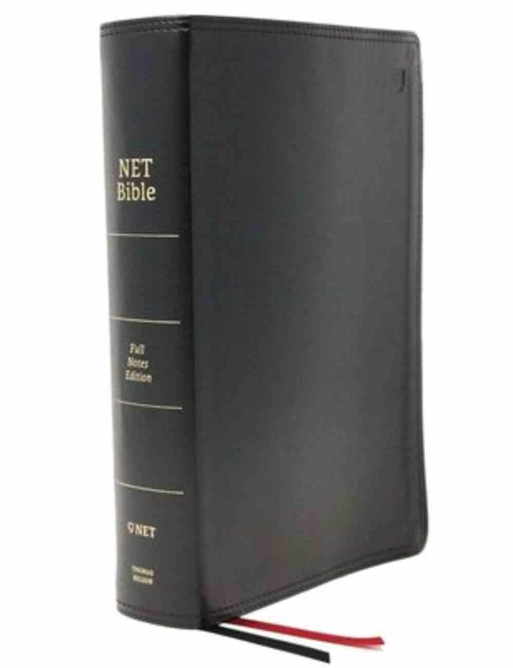 NET Bible Full-Notes Edition Black Indexed Premium Imitation Leather