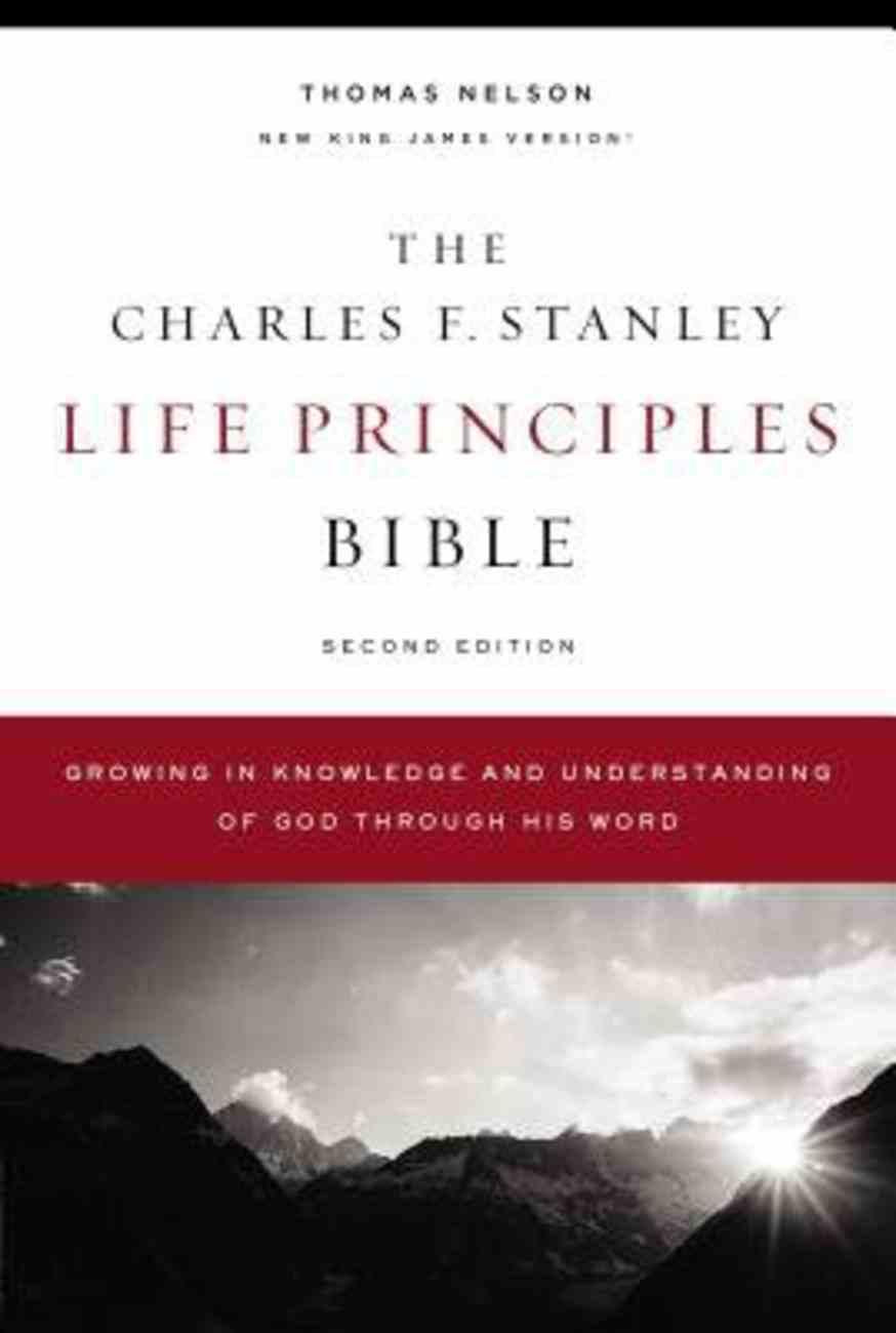 NKJV, Charles F. Stanley Life Principles Bible, 2nd Edition, Ebook eBook