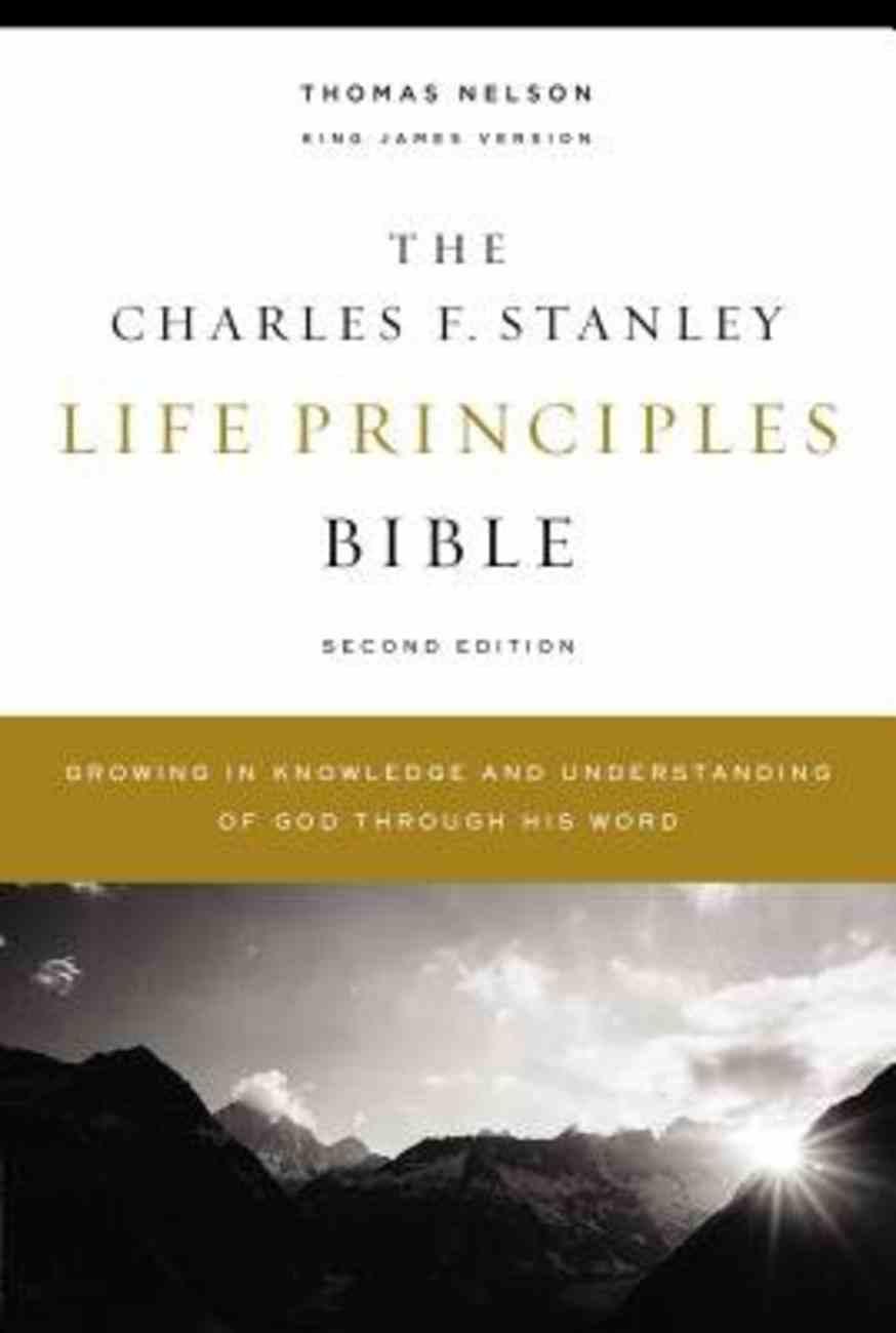 KJV, Charles F. Stanley Life Principles Bible, 2nd Edition, Ebook eBook