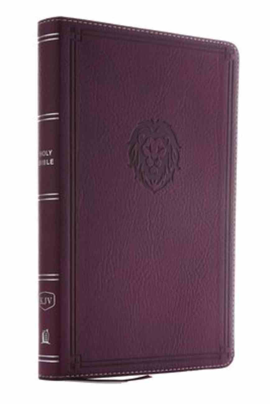 KJV Thinline Bible Youth Edition Burgundy (Red Letter Edition) Premium Imitation Leather