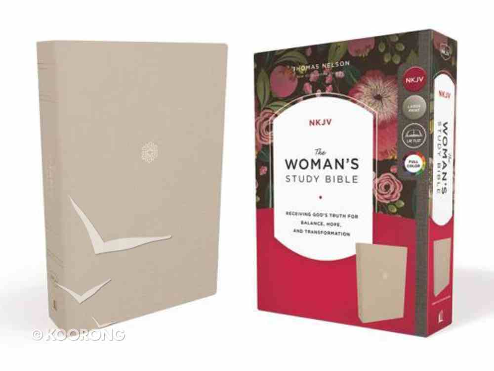 NKJV Woman's Study Bible Cream (Comfort Print) Hardback
