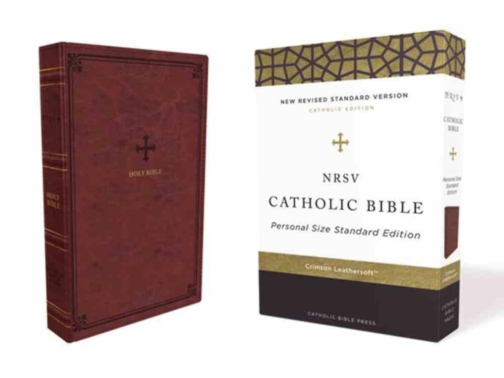 NRSV Catholic Bible Red Premium Imitation Leather
