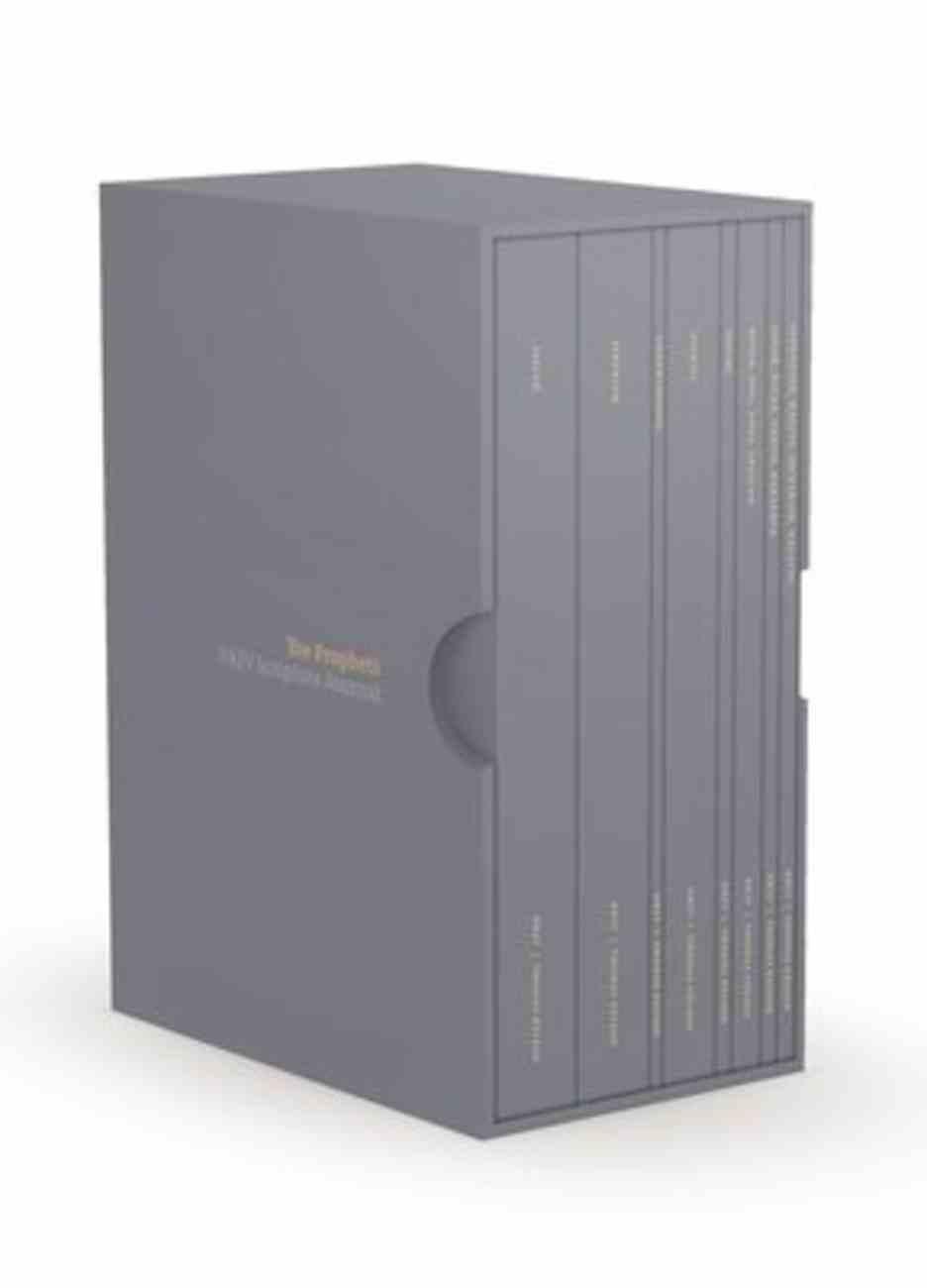 NKJV Scripture Journals the Prophets (8 Volume Box Set) Paperback