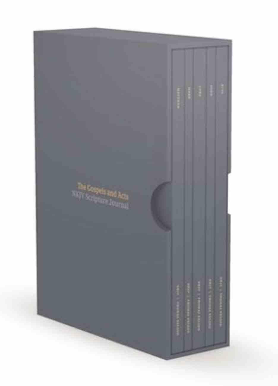 NKJV Scripture Journals the Gospels and Acts (5 Volume Box Set) Paperback
