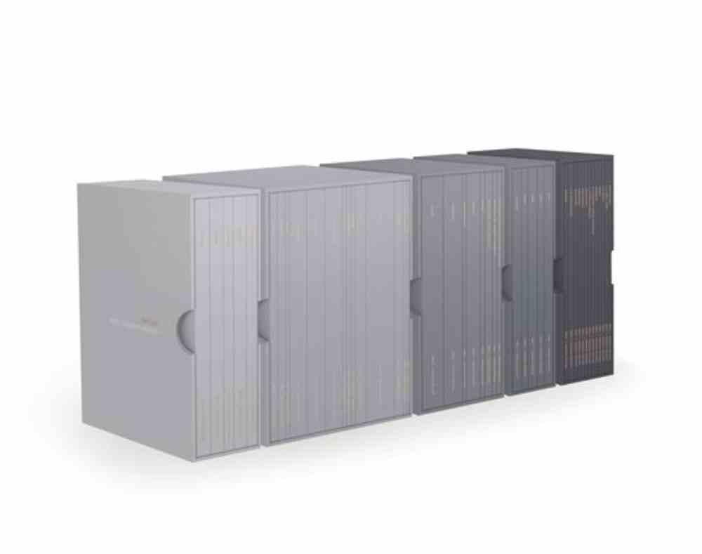 NKJV Scripture Journal Blue-Gray (Complete Bible Boxed Set) Paperback