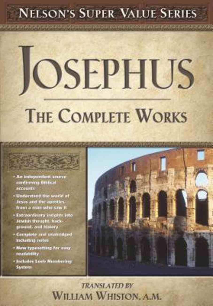 Josephus the Complete Works Hardback
