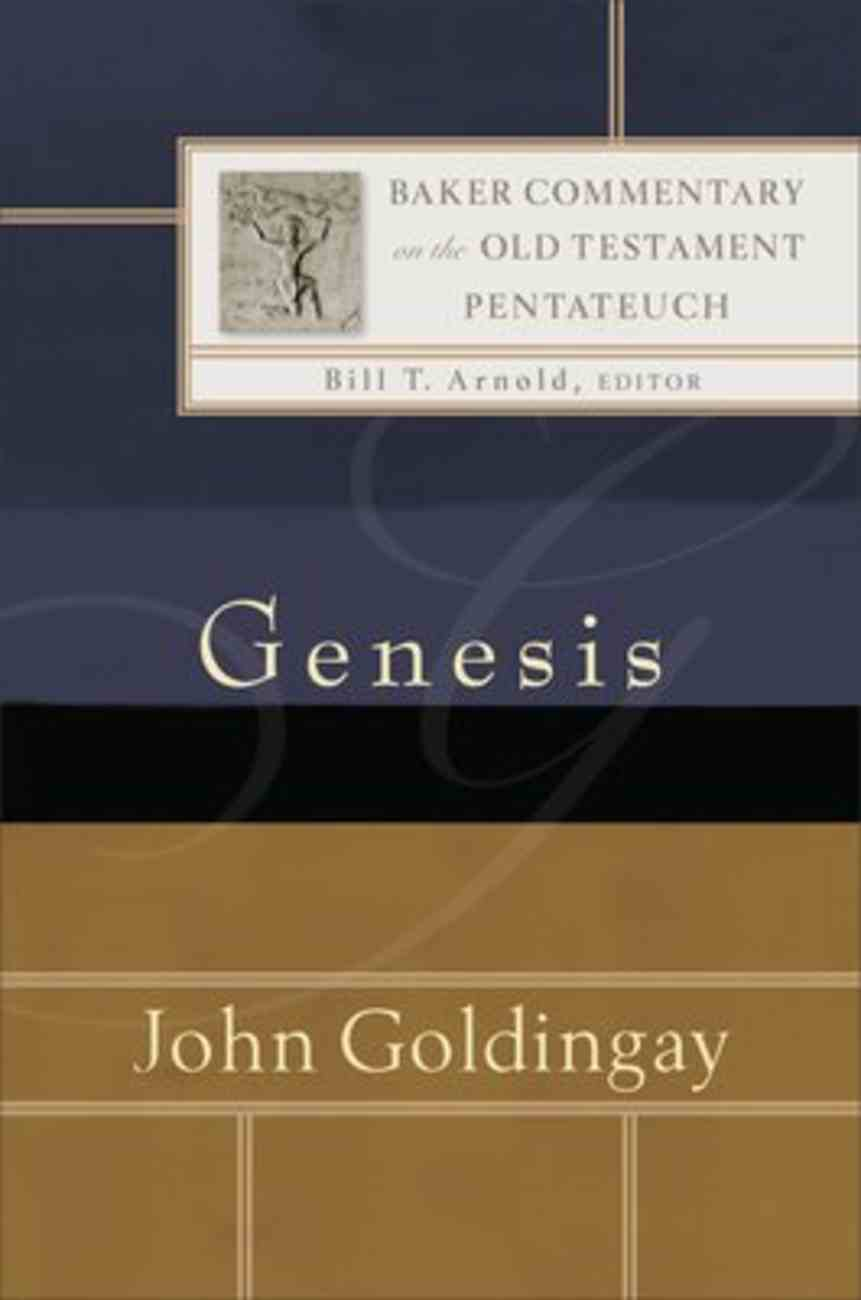 Genesis (Baker Commentary On The Old Testament Pentateuch Series) Hardback