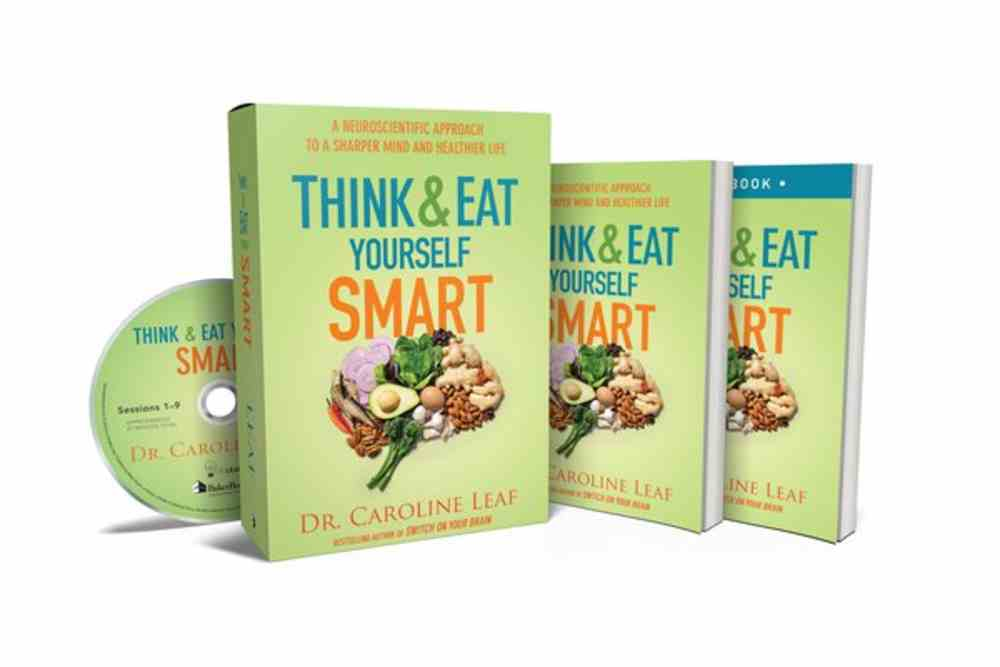 Think and Eat Yourself Smart: Includes Book, Workbook, and DVD): A Neuroscientific Approach to a Sharper Mind and Healthier Life (Curriculum Kit) Pack