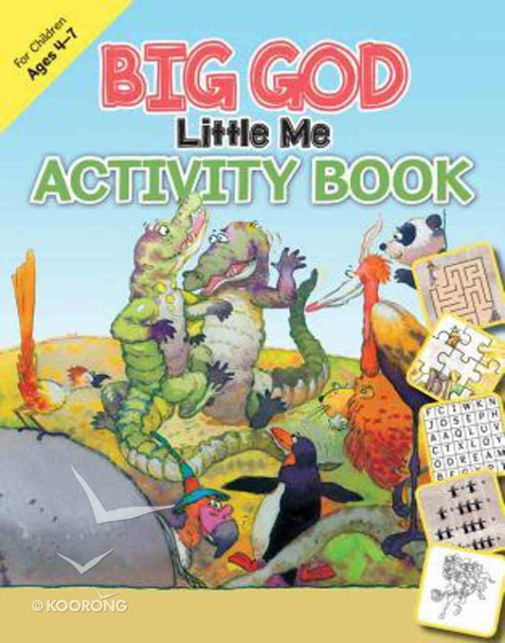Big God, Little Me Activity Book (Ages 4-7) Paperback
