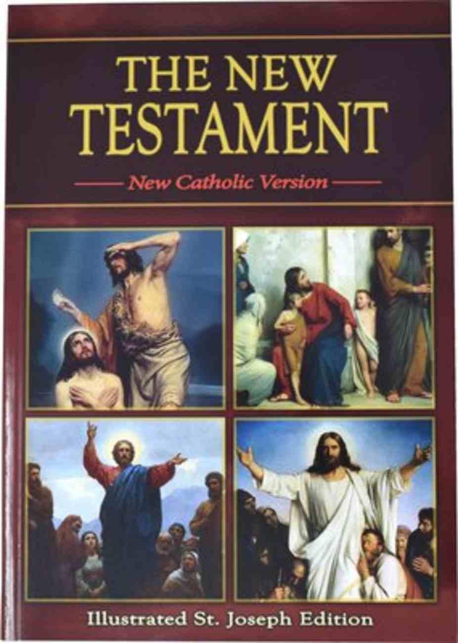St Joseph New Catholic Version New Testament Study Edition Red Paperback