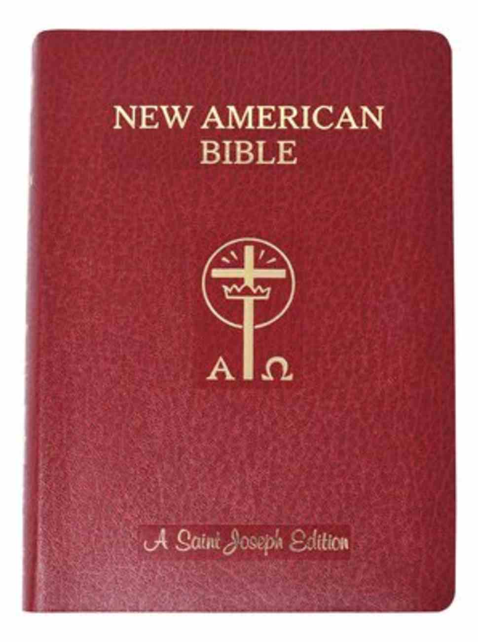 Nab Saint Joseph Giant Print Bible Imitation Leather