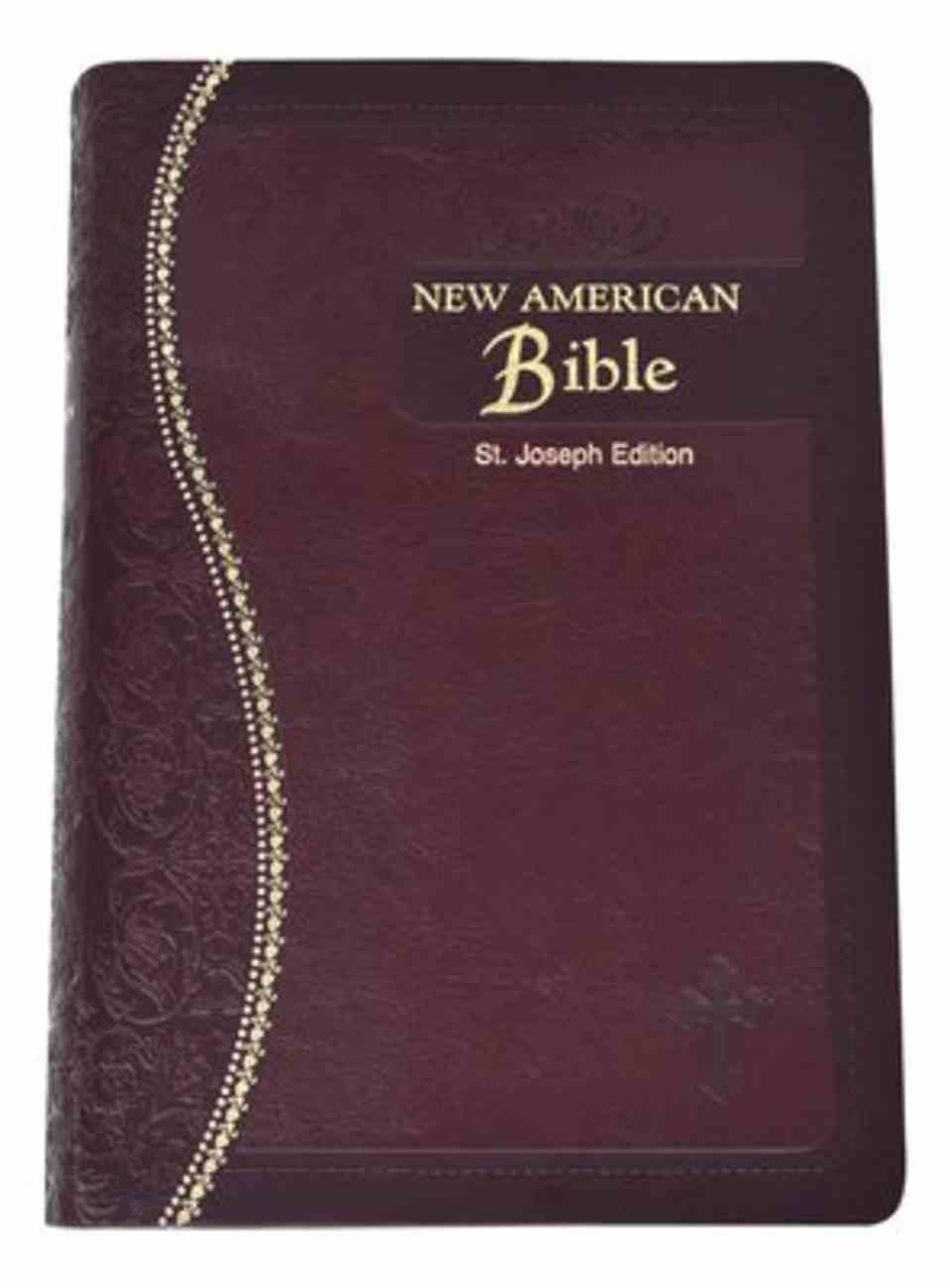 Nab St Joseph Gift Edition Burgundy Medium Size Imitation Leather