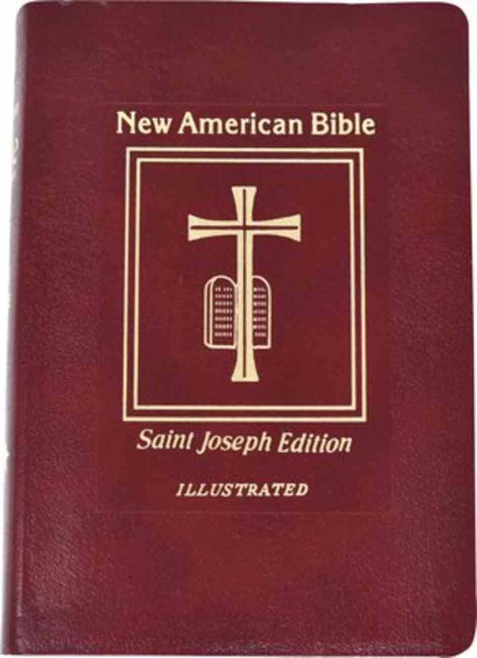 Nab St. Joseph New American Bible, the Giant Print Red Imitation Leather