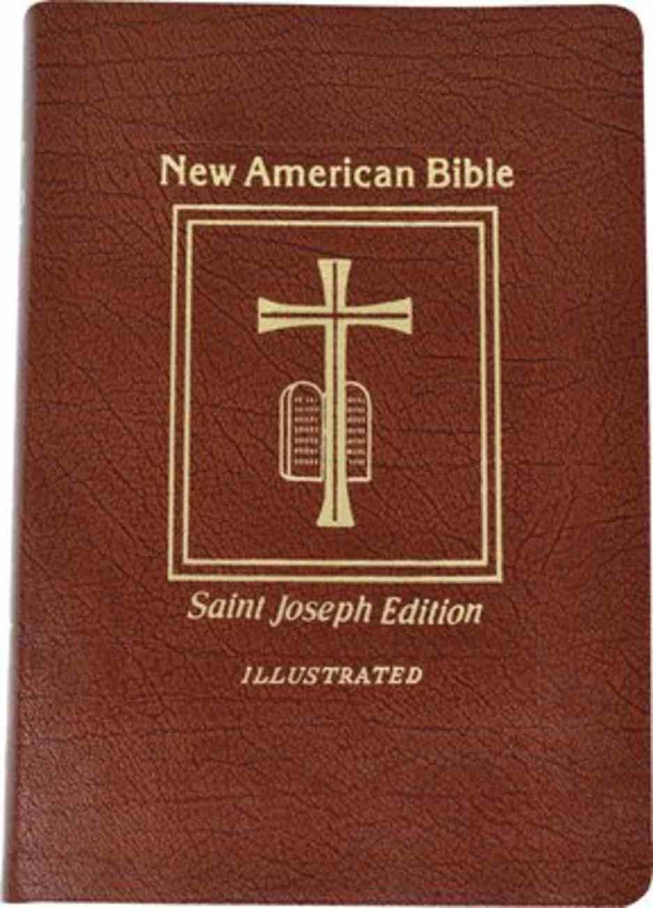 Nab St. Joseph New American Bible, the Giant Print Brown Imitation Leather