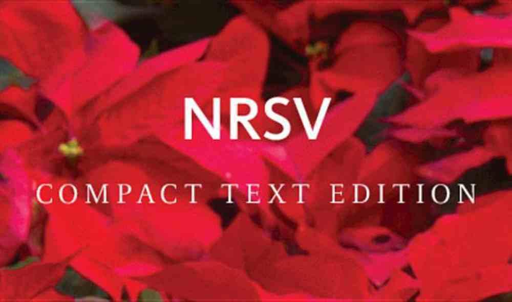 NRSV Compact Text Bible Anglicised Edition Hardback