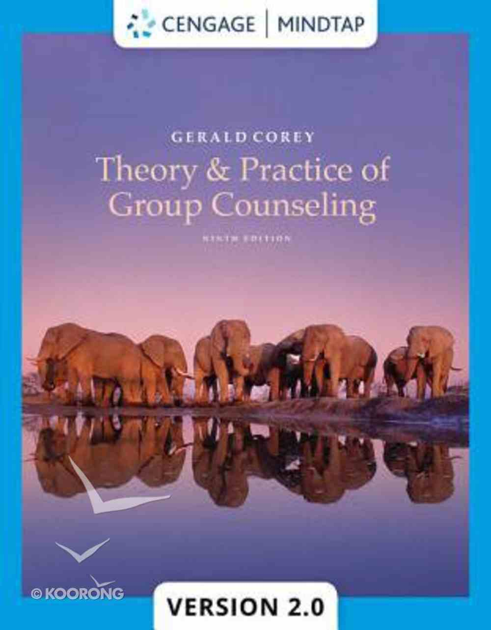 Theory and Practice of Group Counseling (9th Edition) Hardback