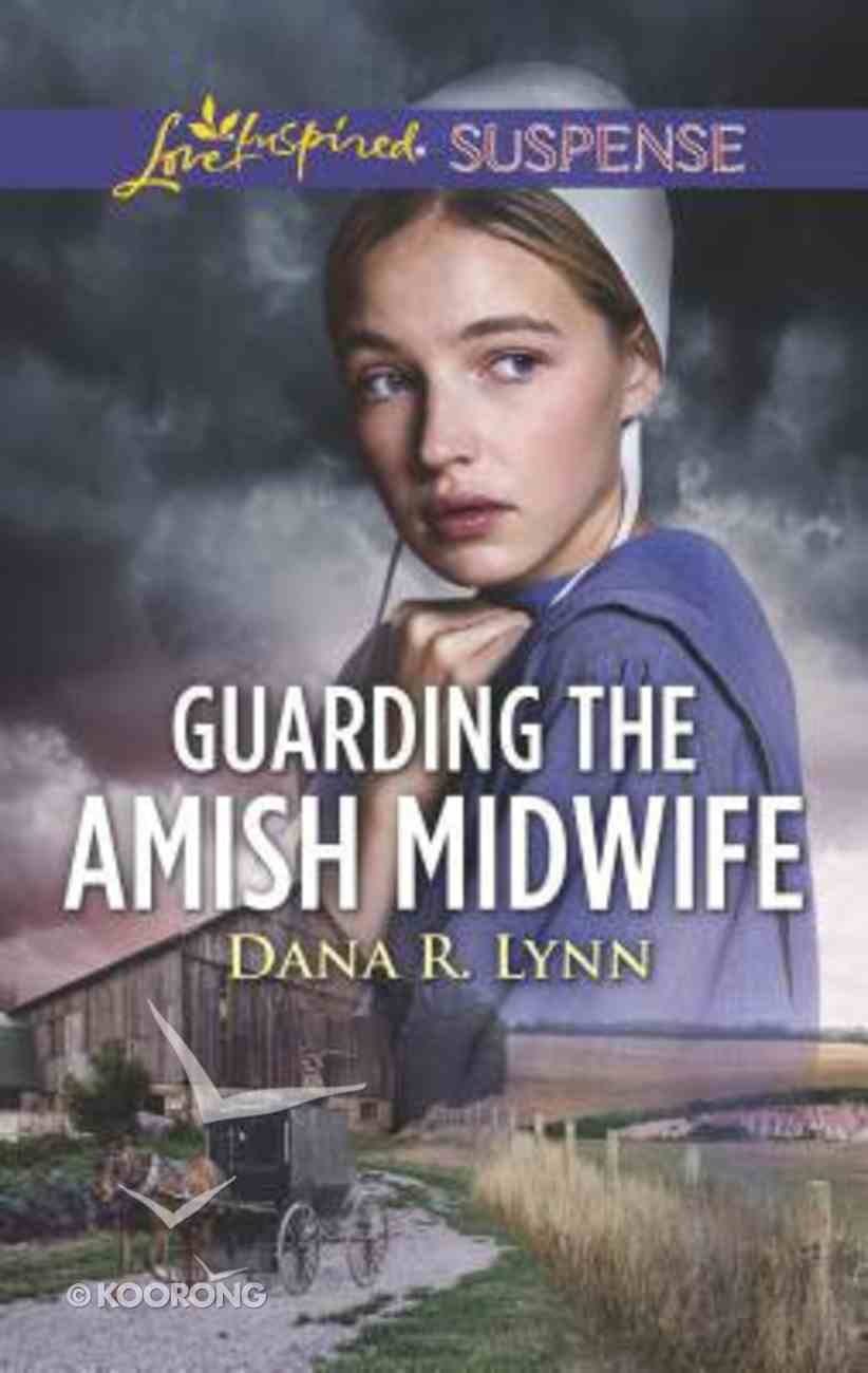 Guarding the Amish Midwife (Amish Country Justice) (Love Inspired Suspense Series) Mass Market