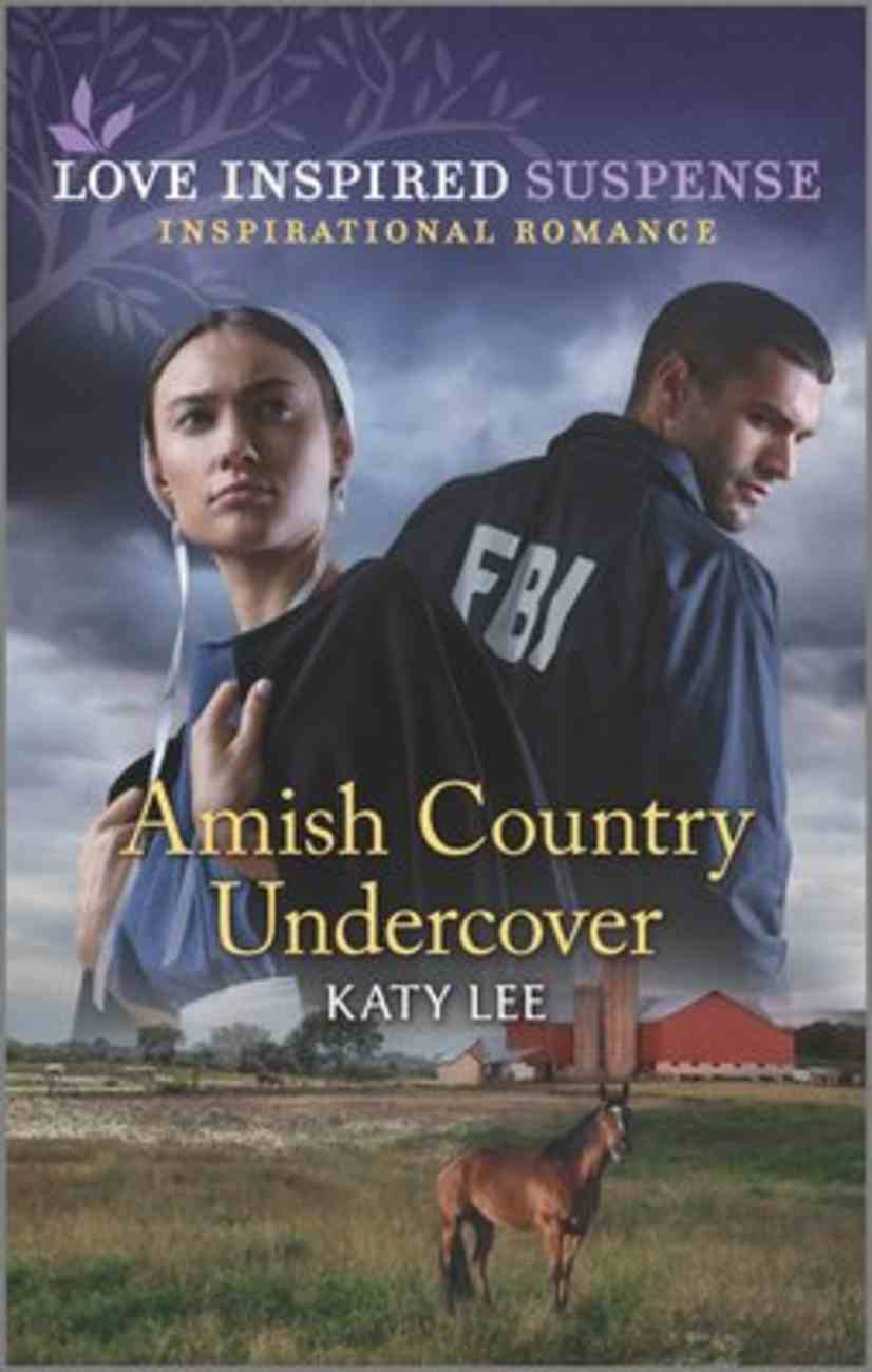 Amish Country Undercover (Love Inspired Suspense Series) Mass Market