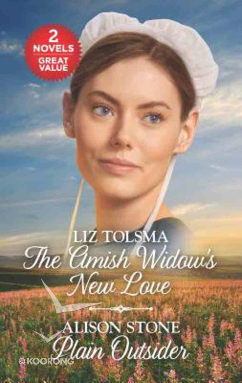 Amish Widow's New Love, the / Plain Outsider (2 Books in 1) (Love Inspired Series) Mass Market