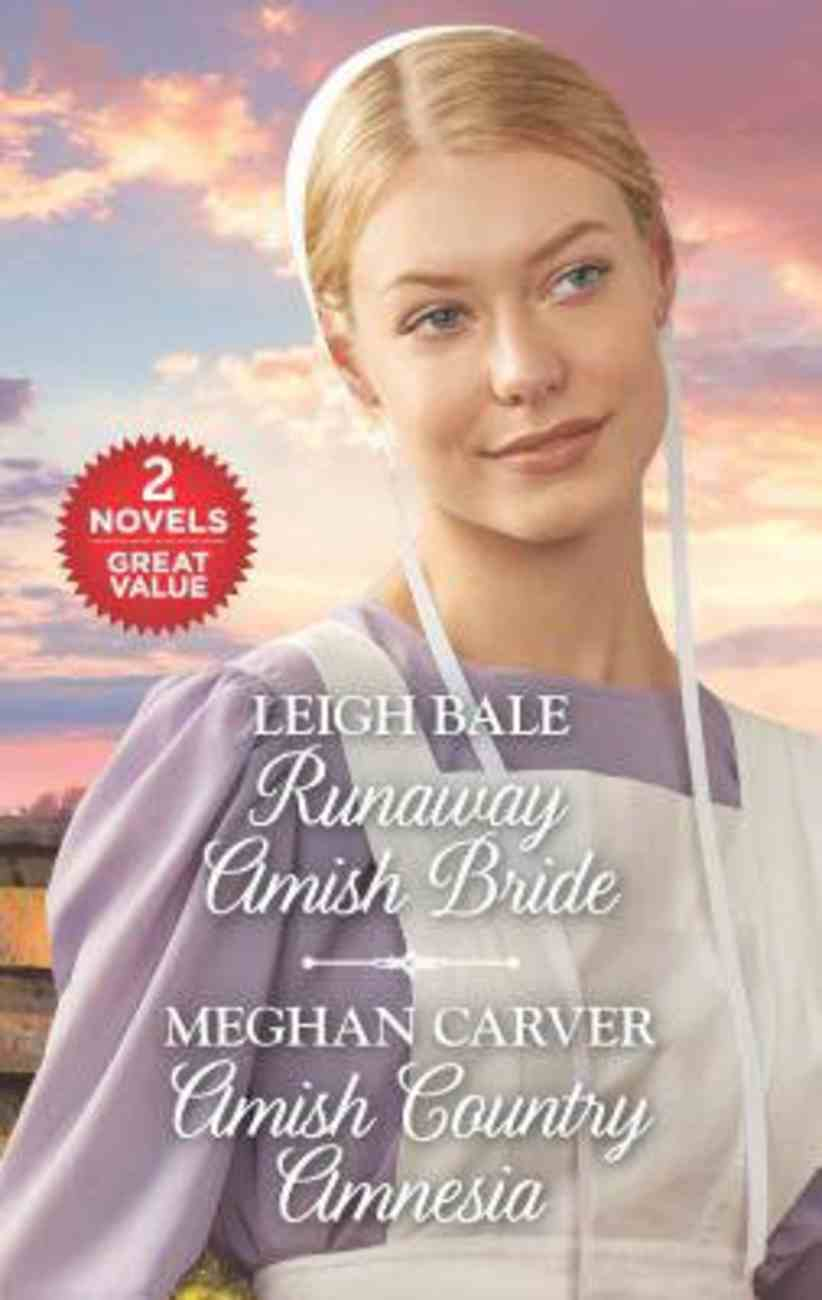 Runaway Amish Bride/Amish Country Amnesia (Love Inspired 2 Books In 1 Series) Mass Market