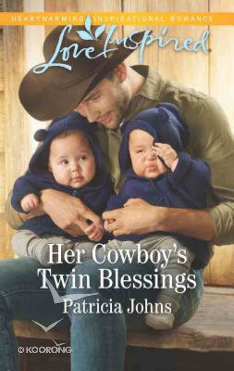 Her Cowboy's Twin Blessings (Montana Twins) (Love Inspired Series) Mass Market