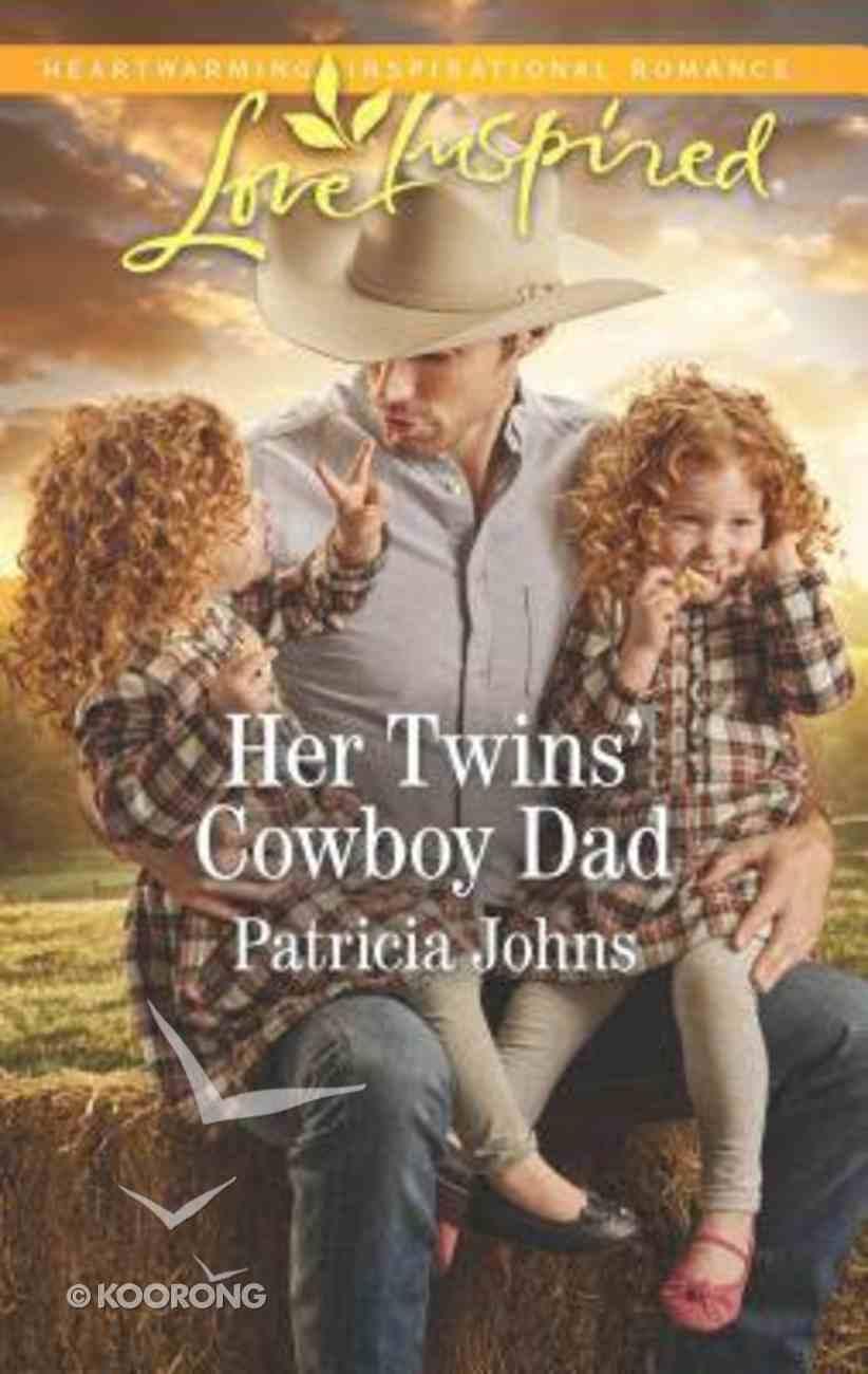 Her Twins' Cowboy Dad (Montana Twins) (Love Inspired Series) Mass Market