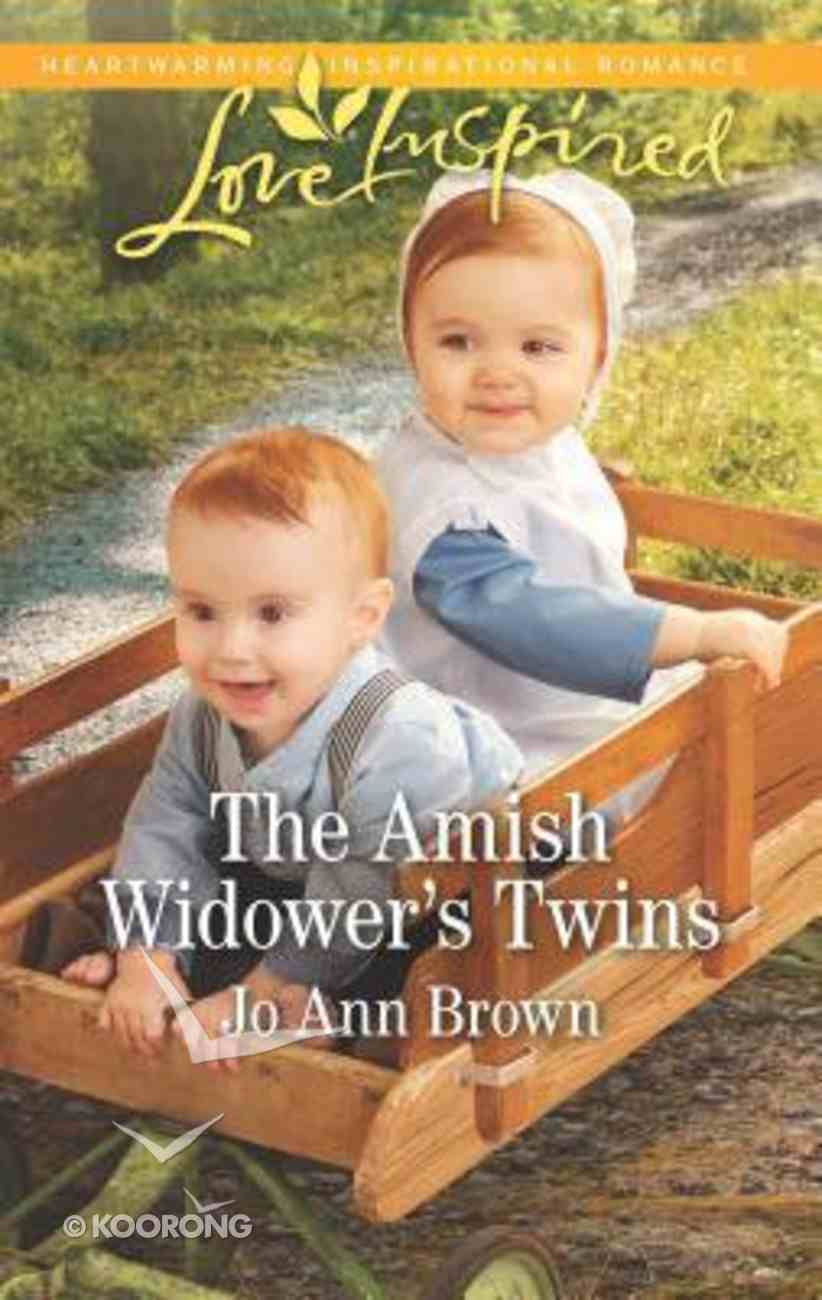 The Amish Widower's Twins (Amish Spinster Club) (Love Inspired Series) Mass Market