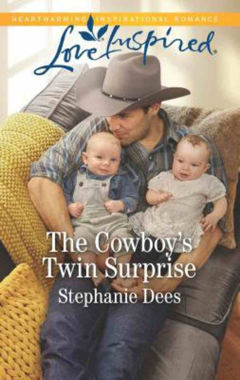 The Cowboy's Twin Surprise (Love Inspired Series) Mass Market