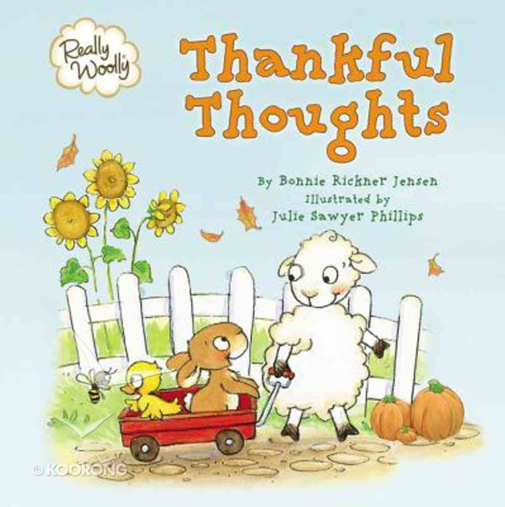 Really Woolly Thankful Thoughts Board Book