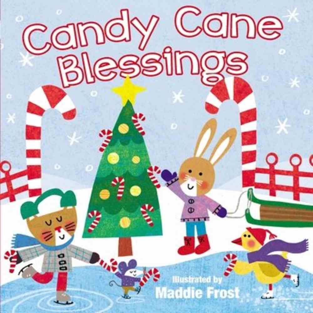 Candy Cane Blessings Board Book
