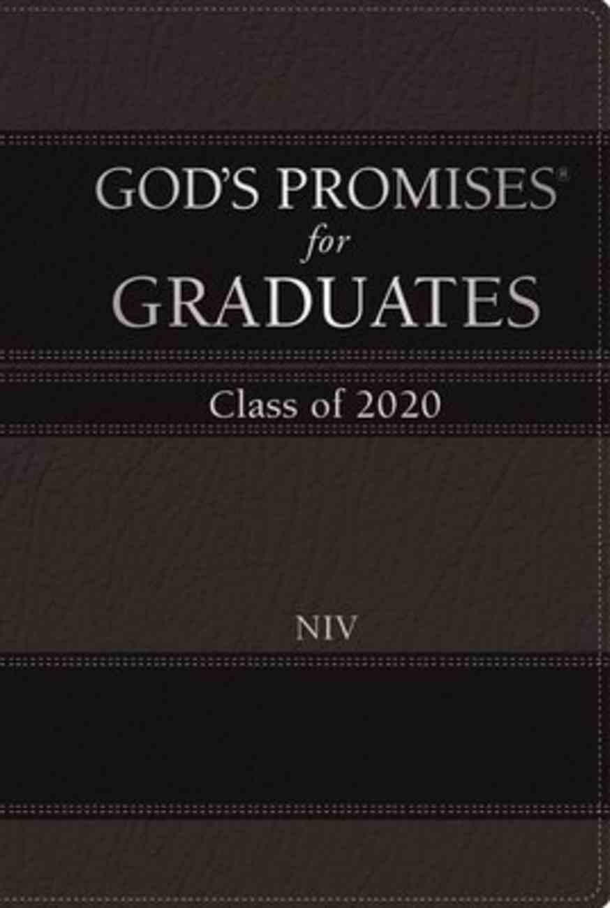 God's Promises For Graduates: Class of 2020 - Black NIV Hardback