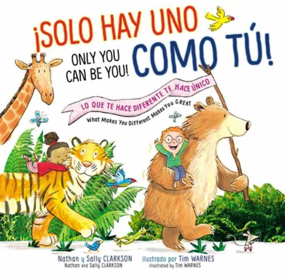 Solo Tu Puedes Ser Tu (Only You Can Be You) Hardback