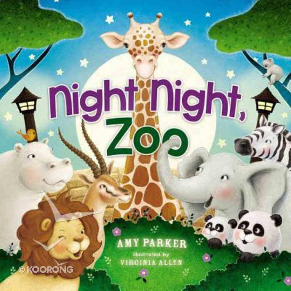 Night Night, Zoo (Night, Night Series) Board Book