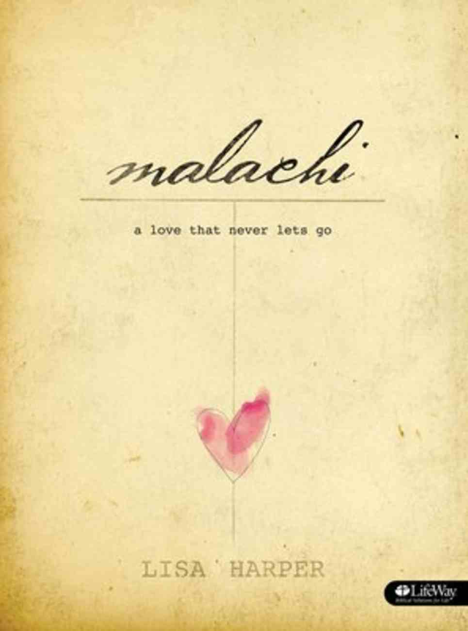 Malachi: A Love That Never Lets Go (Dvd Leader Kit) DVD