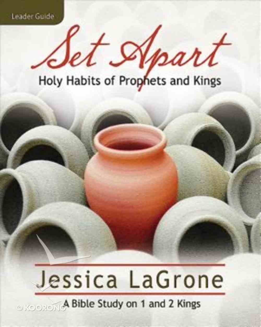 Set Apart - Women's Bible Study (Leader Guide) Paperback