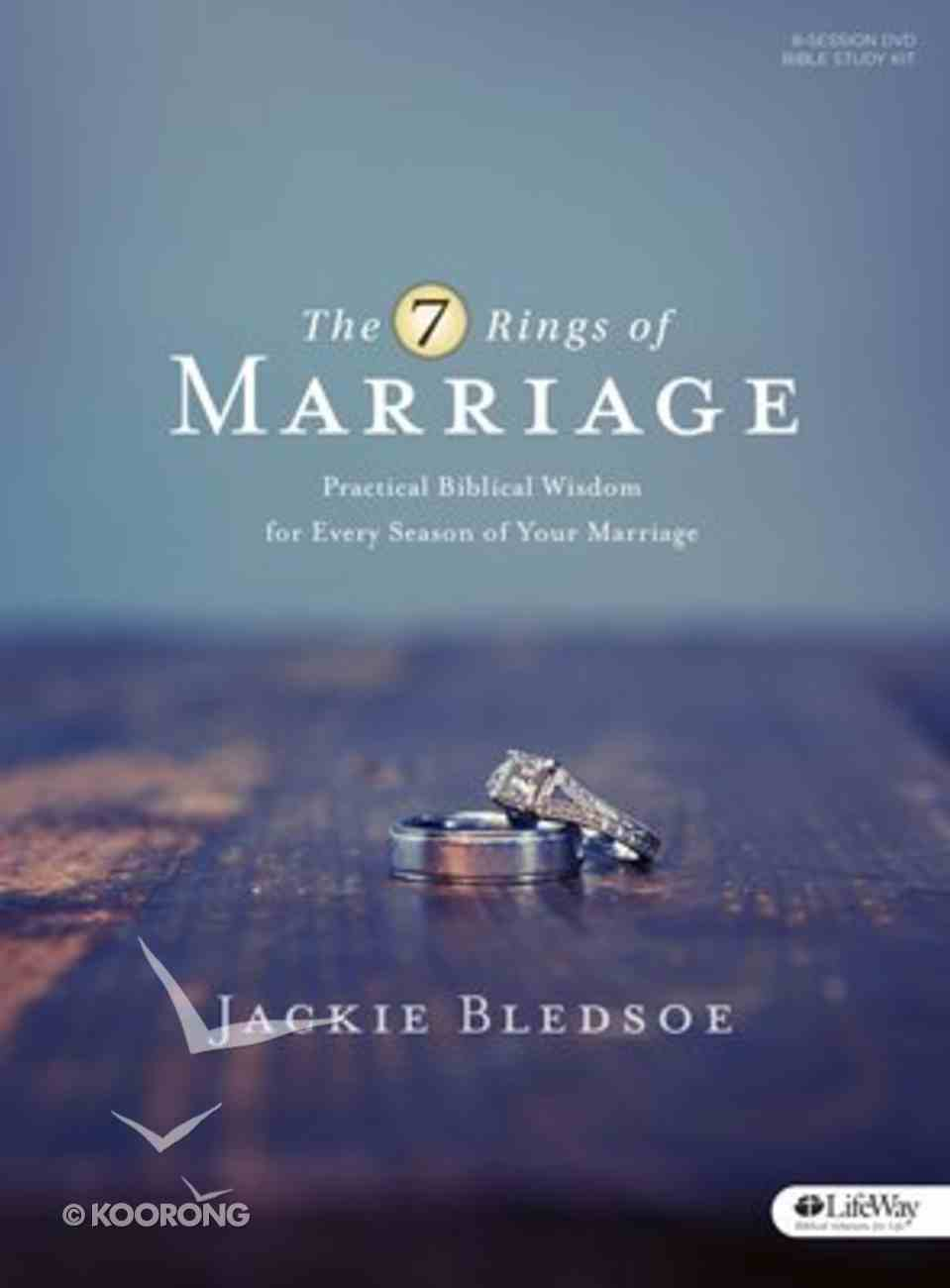 The 7 Rings of Marriage (Dvd Leader Kit: 8-session Study With 7 Weeks Of Homework And Interactive Teaching Video Approximately 15 Minutes Each Week) Pack
