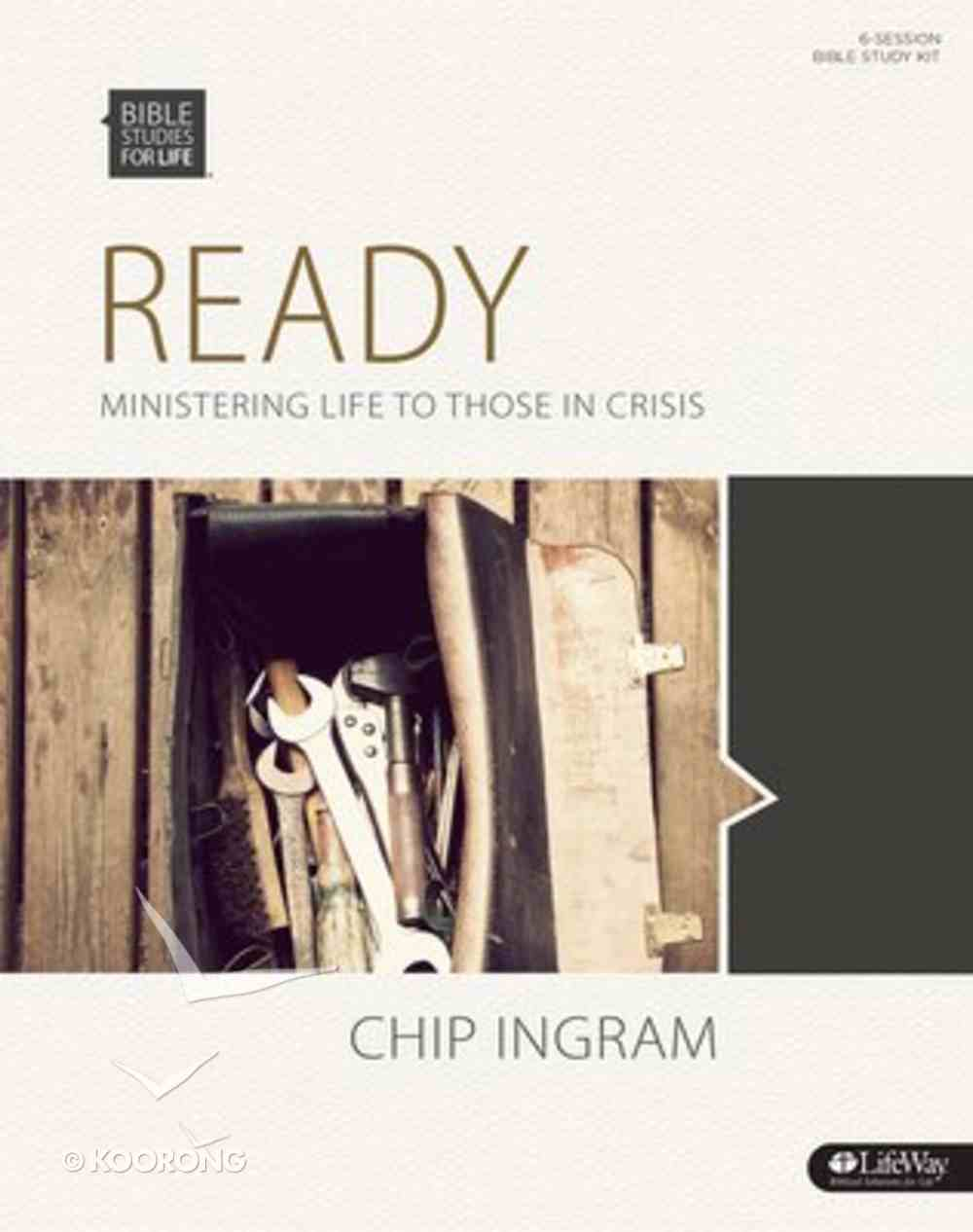 Ready Ministering to Those in Crisis (Leader Kit) (Bible Studies For Life Series) Paperback