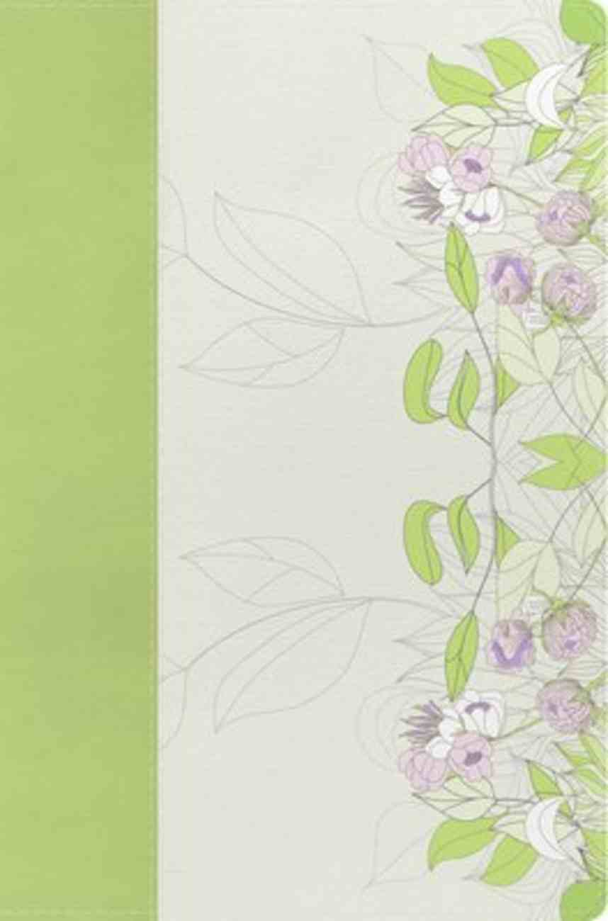 NKJV Study Bible For Women Willow Green/Wildflower Imitation Leather