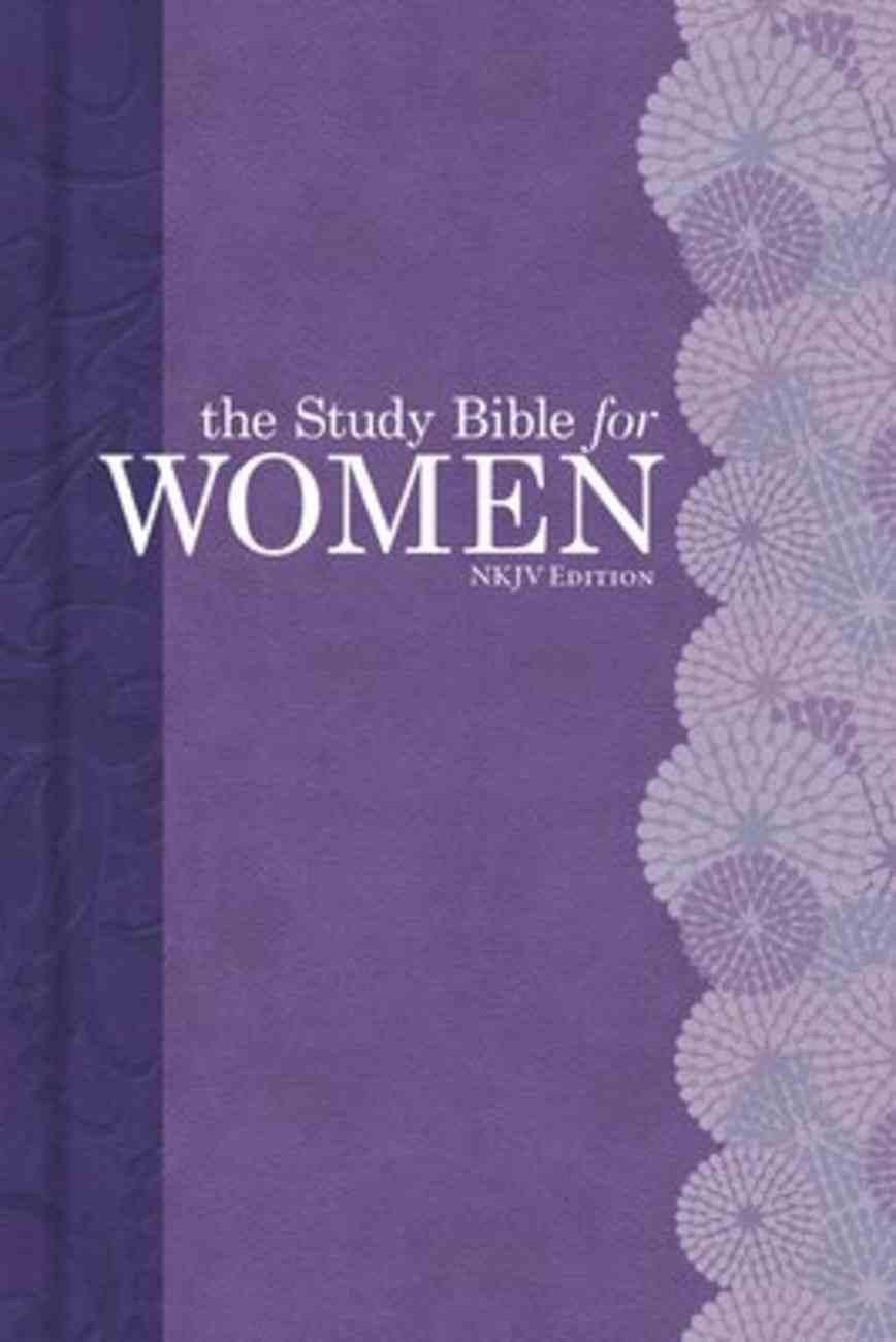 NKJV Study Bible For Women Personal Size Hardback