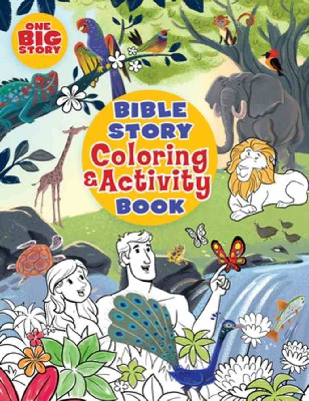 Bible Story Coloring and Activity Book Paperback