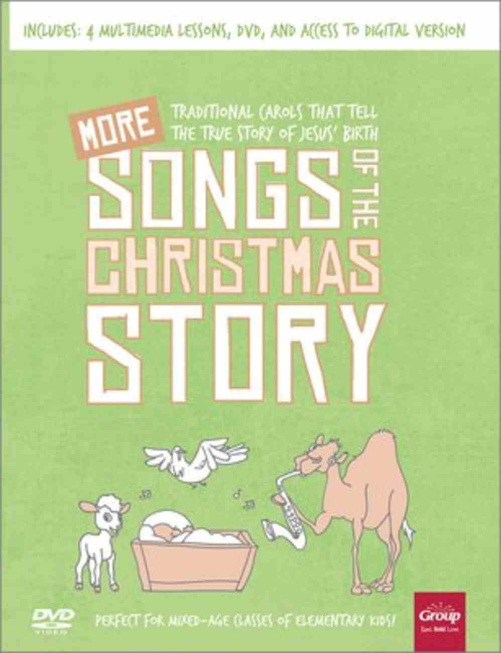 More Songs of the Christmas Story: Traditional Carols That Tell the True Story of Jesus' Birth Pack