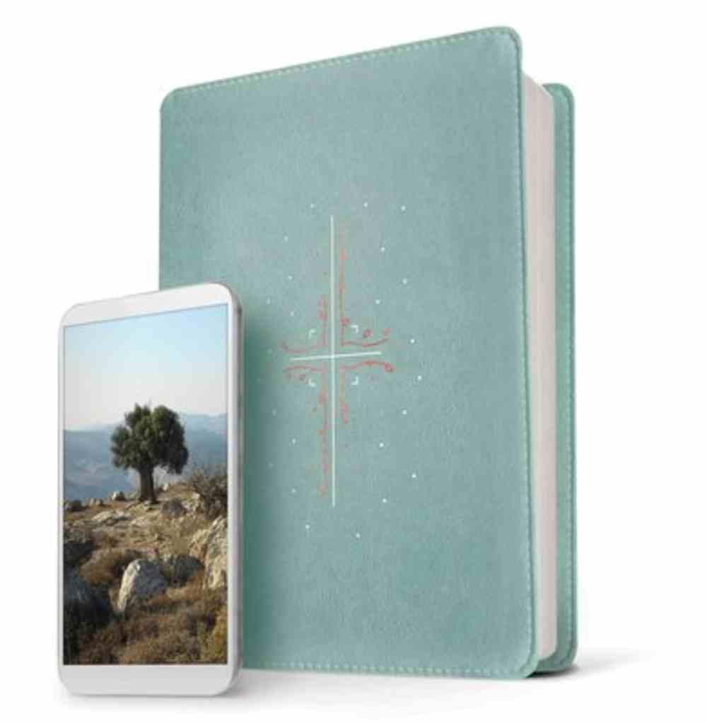 NLT Filament Bible Teal (The Print+digital Bible) Imitation Leather