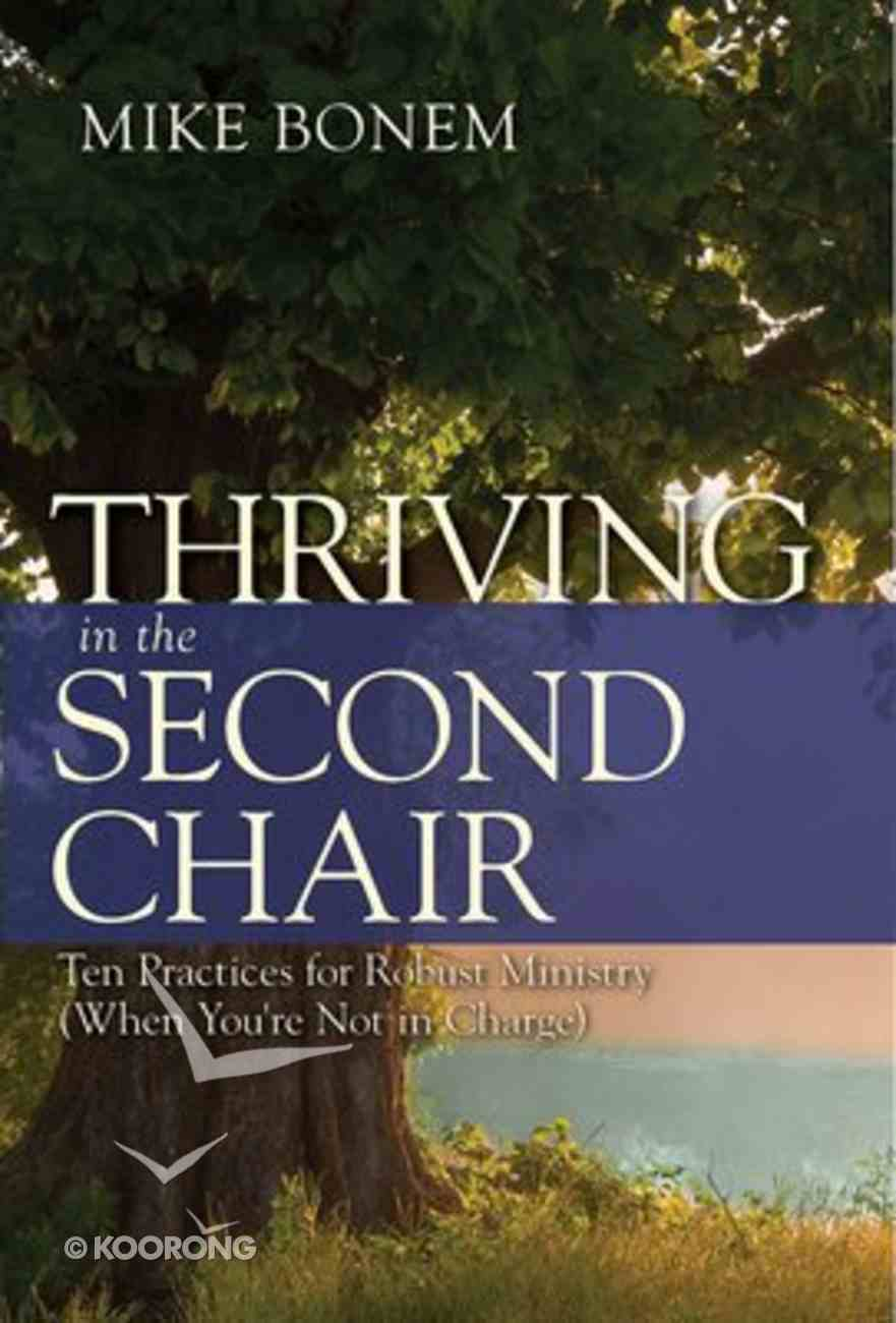 Thriving in the Second Chair Paperback