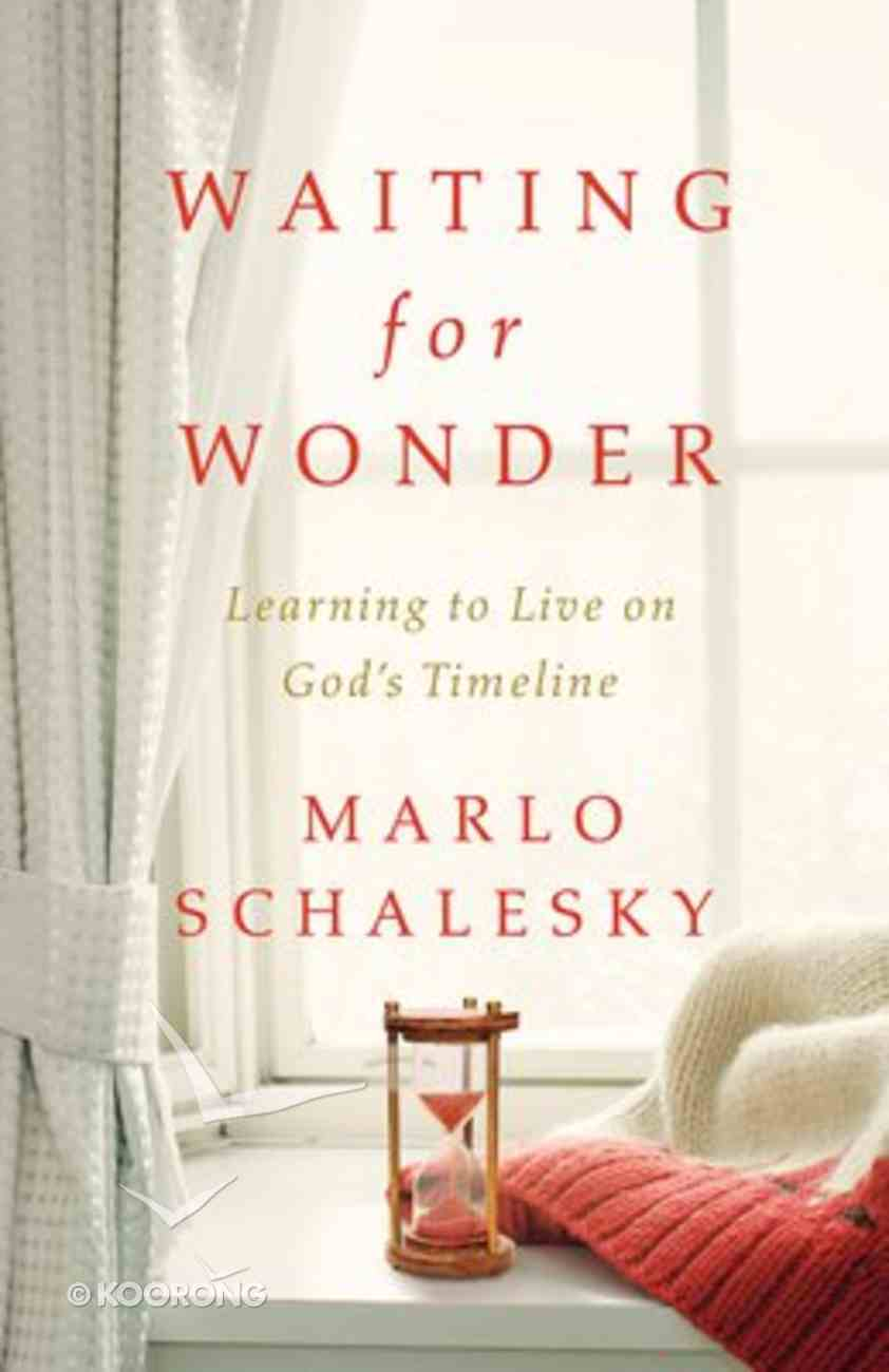 Waiting For Wonder Paperback