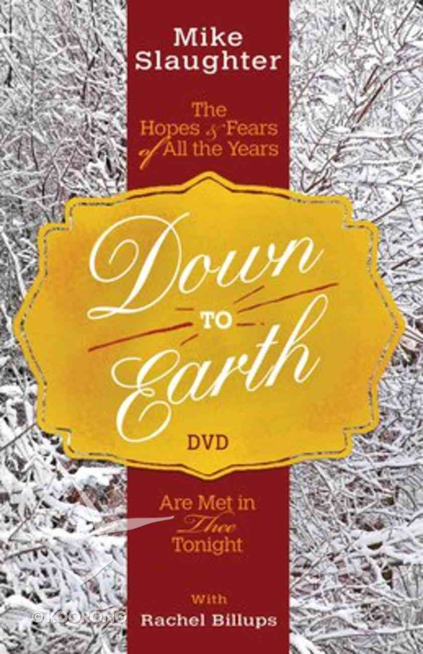 Down to Earth (Dvd) DVD